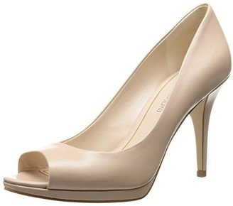 Enzo Angiolini Women's Nolle Leather Dress Pump $109 thestylecure.com