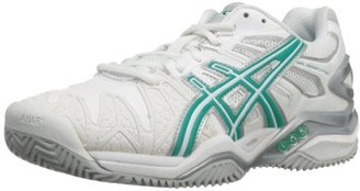 Asics Women's Gel-Resolution 5 Clay Court Tennis Shoe