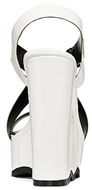 Nicole Miller n by Ripple Patent Wedge Sandals