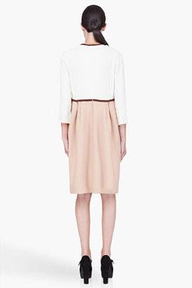 Chloé Colorblock Cady Piping Dress
