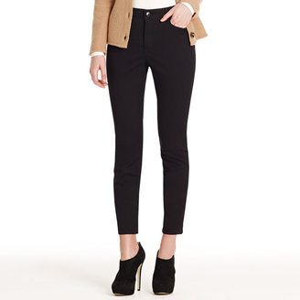 """Jones New York Super Stretch Twill Ankle Jeans with 28"""" Inseam"""