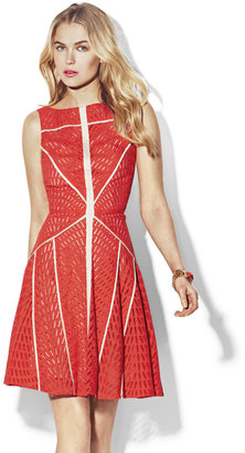 Vince Camuto Sleeveless Flare Dress