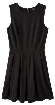 Mb Mossimo® Womens Fit and Flare Ponte Dress