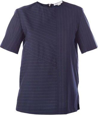 Alexander Wang boxy pinstripe T-shirt