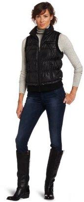 Calvin Klein Women's Slick Puffer Vest