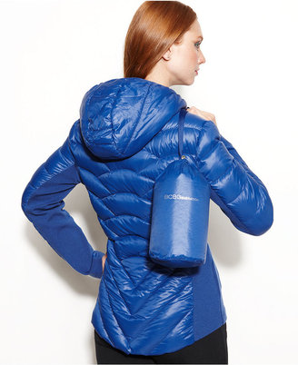 BCBGeneration Hooded Quilted Down Packable Puffer Coat