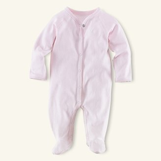Pink Solid Coverall