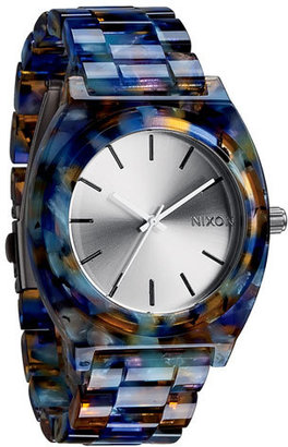 Women's Nixon 'The Time Teller Watercolor' Watch, 39Mm X 37Mm $125 thestylecure.com