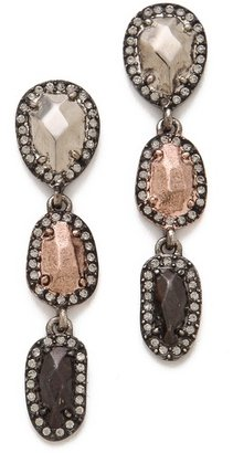 House Of Harlow Rif Pebble Drop Earrings
