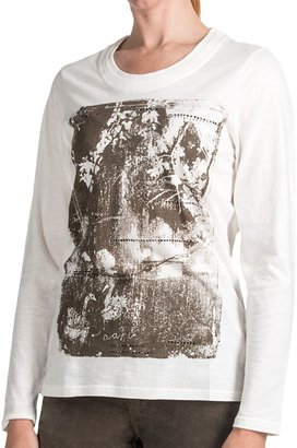 FDJ French Dressing Vintage Abstract T-Shirt - Slub Cotton, Long Sleeve (For Women)