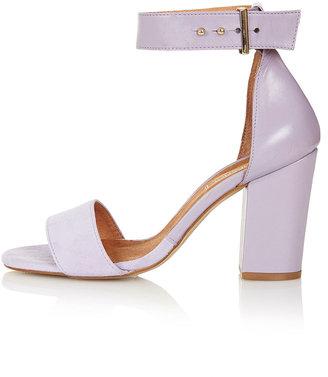Topshop Ramble Square Toe Sandals