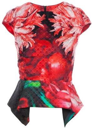 Peter Pilotto floral top