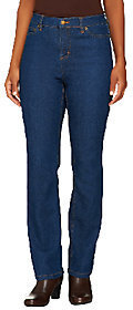 Liz Claiborne New York Regular Hepburn Straight Leg Jeans $12.50 thestylecure.com