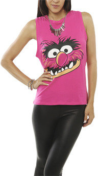 Wet Seal WetSeal Animal Tank Pink