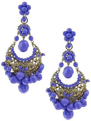 Forever 21 Dia Dangling Bead Earrings
