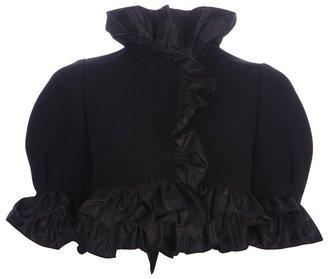 Dolce & Gabbana ruffle cape