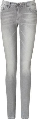 See by Chloe Light Grey Skinny Leg Jeans