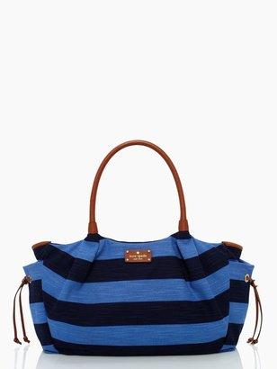 Kate Spade Jubilee stripe stevie baby bag