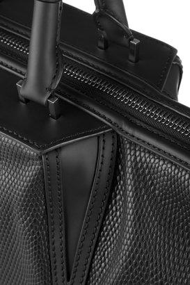 Alexander Wang Lizard-effect leather shopper