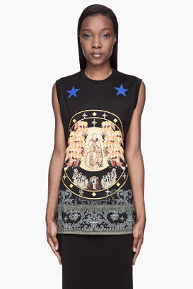 Givenchy Black Canon Print T-Shirt