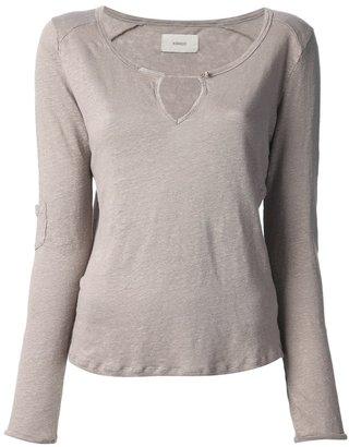 Humanoid strap detail T-shirt