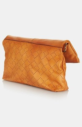 Topshop 'New Perforated' Leather Crossbody Bag