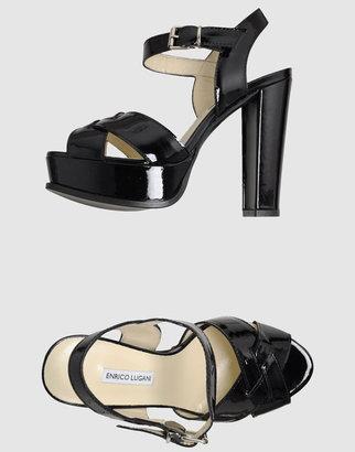 Enrico Lugani Platform sandals