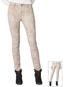 Calvin Klein Jeans Reversible Print Skinny Jeans