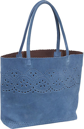 Jesselli Couture BUCO Suede Punch Hole Tote