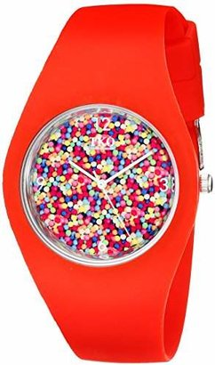 TKO Cool Rubber Fun Gum Ball Dial Watch for Teens TK655RD