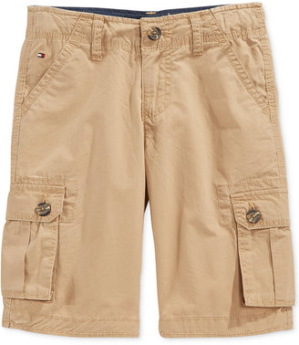 Tommy Hilfiger Boys' Back Country Cargo Shorts $34.50 thestylecure.com