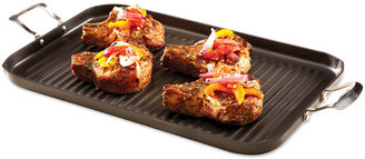 Emerilware Emeril by All-Clad Hard Anodized Double Burner Grill Pan