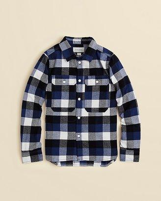 Diesel Boys' Cillar Check Print Button Down Shirt - Sizes S-XXL