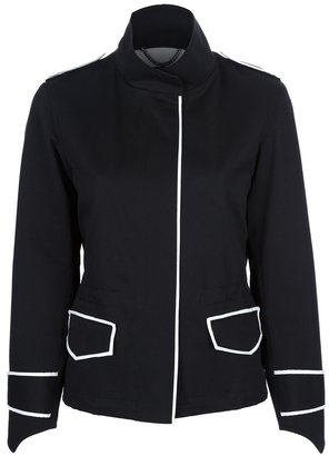Derek Lam contrasting trim jacket