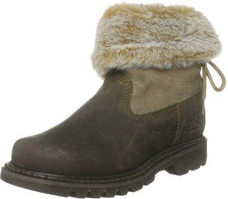 CAT Footwear Women's Bruiser Scrunch Nubuck Beaned Ankle Boots 302651 3 UK