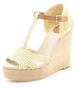 Tory Burch Carina Wedge Sandals