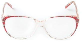 Yves Saint Laurent Pre Owned Round Frame Glasses