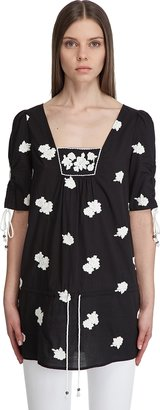 Juicy Couture Black Patsy Tunic