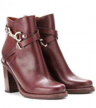 Mulberry Dorset Summer leather boots