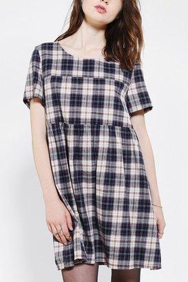 Babydoll Glamorous Plaid Dress
