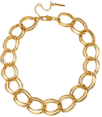 Kenneth Cole New York Necklace, Gold-Tone Large Link Necklace