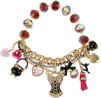 Betsey Johnson Enchanted Dressform Stretch Bracelet