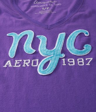 Aeropostale NYC 1987 V-Neck Graphic T