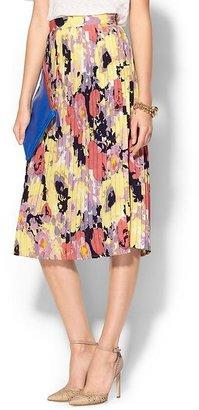 Pim + Larkin Floral Midi Skirt