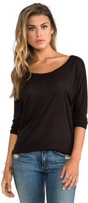 LAmade Micromodal Dropped Shoulder Top