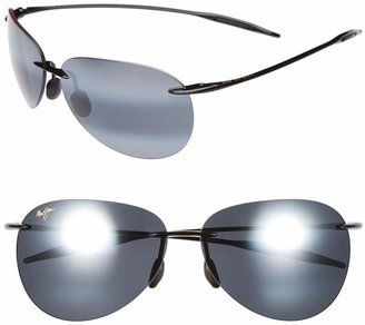 Maui Jim Sugar Beach 62mm PolarizedPlus2(R) Rimless Sunglasses