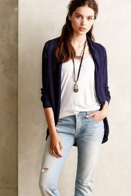 Anthropologie Knitted & Knotted Gardenside Cardigan