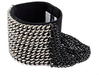 Michelle Roy Gunmetal Loop Chain Cuff
