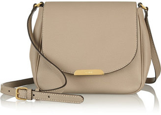 Fendi Textured-leather shoulder bag