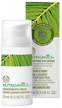 The Body Shop Nutriganics Smoothing Eye Cream 0.5 fl oz (15 ml)